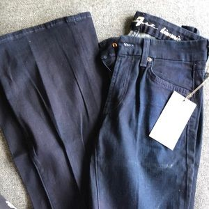 7 For All Mankind Kimmie Mid-Rise Boot Cut Sz 24